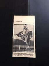 1936 Ephemera Item Mr J V Rank Southern Hero Horse Racing