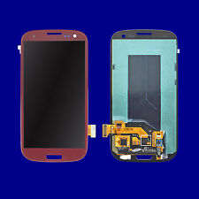 Red LCD + Touch Screen Digitizer For Samsung Galaxy S3 i9300 T999 i747 i535 R530