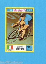 MUNCHEN/MONACO '72-PANINI-Figurina n.131- SARTORI-ITALIA-CICLISMO-Recuperata