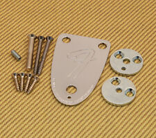 3BOLTKIT-B Fender USA 3-bolt Bass Neck Plate Kit 70s Telecaster & Jazz J Bass