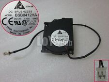 For Delta Electronics BSB0412HA -SM02 -SM04 CPU Cooling Fan DC 12V 0.3A 2wire