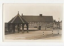 Market Place Abbots Bromley RP Postcard 0776
