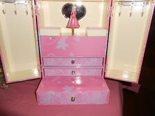 BARBIE JEWELRY BOX*PARK LANE* WALTZ OF THE FLOWER SONG* DANCING BARBIE, 3 DRAWER
