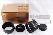 Excellent++++ Nikon AF Nikkor 85mm F1.8 D Lens from Japan #817
