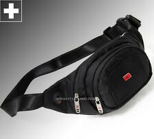 Authentic Swiss Travel Men Fanny Waist Bag Belt Running Bags Sport Purse M223