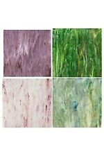STAINED GLASS SUPPLIES STUDIO PRO 4 SHEET GLASS PACK GREAT VALUE!