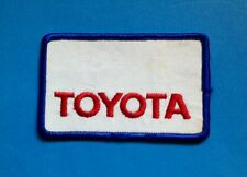 Rare Vintage 1970's Toyota Sew On Employee Uniform Jacket Patch Crest