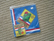 VINTAGE BOY SCOUT NECKERCHIEF scarf W  PATCH 1973 NATIONAL SCOUT JAMBOREE NEW