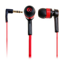 New Best In-Ear Earphones Red Headphone Mini Earphone Cheap For iPod MP3 MP4 MP5