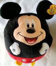 "Disney MICKEY MOUSE Ty Beanie Ballz Collection 8"" Beanbag Plush NEW w/ TAGS"