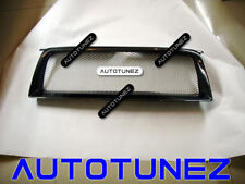 Carbon Fiber Car Grille Grill For Subaru Forester STI 2006-2007 Black AT