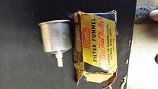 Vintage Coleman No. 0 Filter Funnel For Stoves & Lanterns w/ Original Box