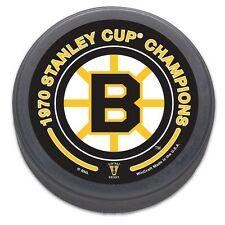 Boston Bruins 1970 Stanley Cup Champions NHL Collectors Puck