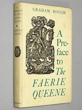 A PREFACE to Spenser's The FAERIE QUEENE - Graham Hough (1962 1st Ed) VG+ w d/j