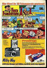 Milky Way--Fred Feuerstein-- Besuch von Fremden Sternen--Werbung von 1970--