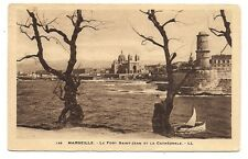 marseille le fort saint-jean et la cathédrale
