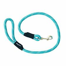 ZippyPaws Original Climbers Dog Leash, Durable Rope Leash, Teal, 4 Feet