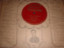 78RPM Victrola 64894 (One Sided) Mischa Elman, The Dew is Sparkling V sleeve!
