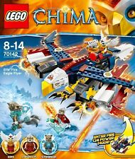 LEGO Legends Of Chima 70142 Planeur Aigle Feu D'Eris FIRE EAGLE FLYER LAGRAVIS