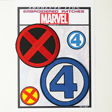 X-MEN / FANTASTIC FOUR Marvel Patches Iron-On Patch Super Set #020 FREE POSTAGE
