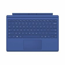 Genuine Microsoft Surface Pro 4 Type Cover Keyboard (QC7-00003) - Blue - NB -VG