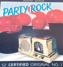 SILVER EAGLE RECORDS Tape Cassette SOLID GOLD PARTY ROCK (TAPE # 3) C-PCS-5501