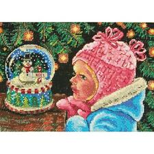 Counted Cross Stitch Kit  CHRISTMAS WISHES Dimensions Gold Collection