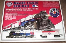 LIONEL PHILLIES Steam Berkshire Electric Train Set Complete & Ready 2 Run SEALED