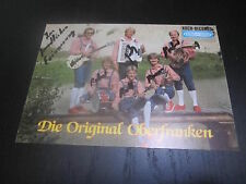 43083 Original Oberfranken TV Musik Film Kino original signierte Autogrammkarte
