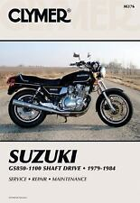 Suzuki GS850-1100 Shaft Drive, 1979-1984 by Clymer Publications Staff and...