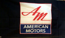 AMC AMERICAN MOTORS CORPORATION BANNER FLAG 3X5 rambler gremlin pacer javelin