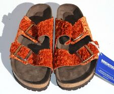 New Birkenstock Arizona Textile Soft Footbed Persian Slide Sandals Size 40 / 9 N
