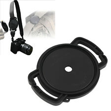 Camera Lens Cap Holder Buckle Safety Keeper Anti-lost for 72mm 77mm 82mm DH