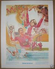 1978 Prudential  Print, Commonwealth Gold Winners