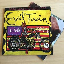 "Love Hate - Evil Twin 12"" Vinyl & Poster"