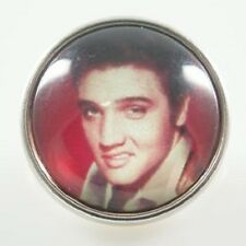 Snap Elvis Presley Interchangeable Jewelry Button 18mm Fits Ginger Snaps