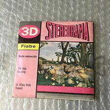 VERY RARE VINTAGE 60'S VIEW MASTER STEREORAMA 3D#UGLY DUCKLING BRUTTO ANATROCCOL