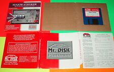 "MAJOR STRYKER 3.5"" SHAREWARE IBM PC MS-DOS COMPLETE SUPER RARE STRIKER"