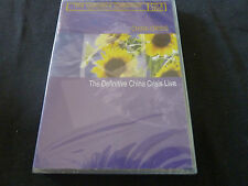 CHINA CRISIS LIVE THE DEFINITIVE COLLECTION RARE SEALED CD/DVD PACK!