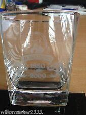 JACK DANIELS 150th BIRTHDAY ANIVERSARY ENGRAVED GLASS