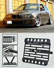 01-06 BMW E46 M3 Front Tow Hook Mount License Plate Bracket Holder