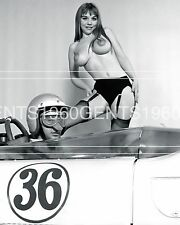 BUSTY BIG BREASTS NUDE MICHELLE ANGELO 1960s 8X10 PHOTO FROM ORIGINAL NEG-5