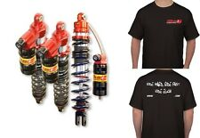 YAMAHA BLASTER ELKA SUSPENSION STAGE 3 FRONT & REAR SHOCKS + FREE T-SHIRT