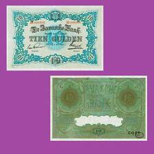 NETHERLANDS INDIES. Javasche Bank. 10 Gulden, 1.5.1923.  UNC - Reproductions