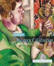Western Civilization: A Brief History, Volume 2, by Marvin Perry