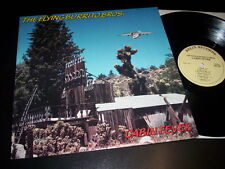 "The Flying Burrito Bros.""Cabin Fever"" LP Relix Records ‎– RRLP 2008 Usa 1985"