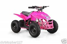 Outdoor Kids Titan V5 24V Pink Mini Quad ATV Dirt Motor Bike Electric Battery