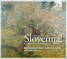 Slovenija! Solovenian Songs and Duets of the 19th-20th Centuries
