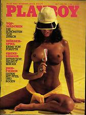 PLAYBOY D 7/1981 Juli - Die schönsten Mädchen Zürich, Franz Beckenbauer, HSV