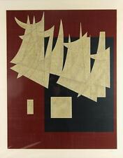 Carlos Merida orig serigraph Alegorica de la Danza, 1976 Lot 872A